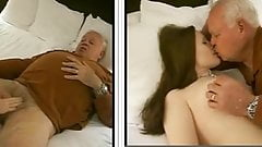 82 yo man and bitch (kiss and suck)