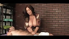 The hottest HJ from a cougar with huge tits's Thumb