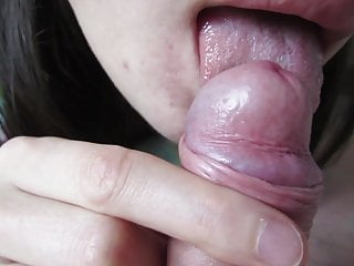 Teen girl slave - her tongue worships my feet and dick