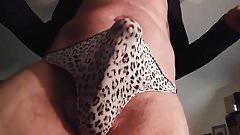 Cumming in my nylon pantie