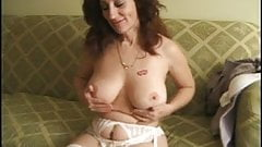 Mature hairy pussy solo masturbation