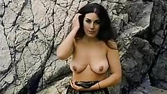 Teen Model Stripping on the Beach (1960s Vintage)