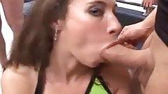 Bukkake Porno - Deutsche Schlampen im Sperma Wahn