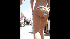 Beautiful girl in bikini with a butt of respect !