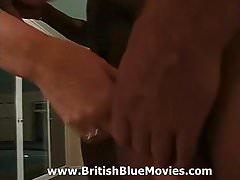 British Housewife Gang Bang