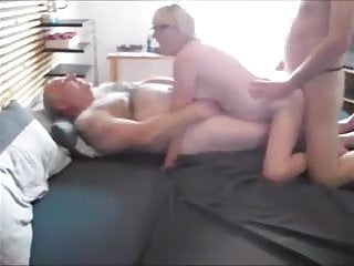 Amateur - Bisex Mature Blond Couple - Three Scenes