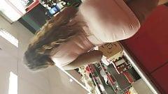 Qt VPL pink dress mmmmm