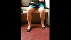 upskirt on train 7