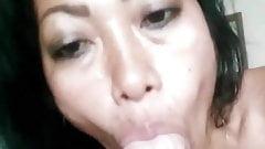 Asian GFE Hot Blow Job No.1