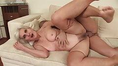 Viviana - Kata - Myra hairy granny & yg dude
