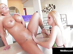 Mega Hot Canadians Nikki Benz & Shyla Stylez Love Wet Pussy!