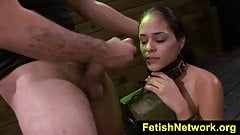FetishNetwork Jasmine Caro deepthroats