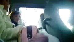 pervert in bus