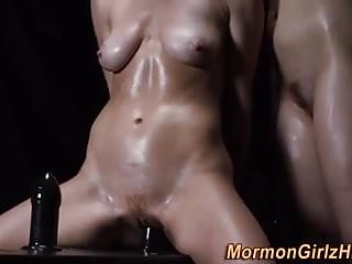 Kinky mormon babes toyed