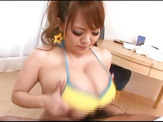 Huge boobs titjob
