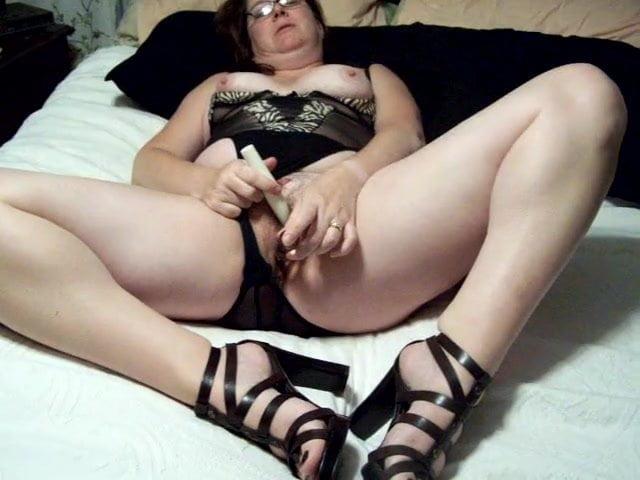 wife getting herself off