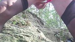 dildo on the rock