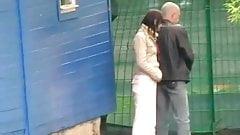 Voyeur couple concert pee.mp4