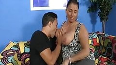 Slutty Mom Sucks A Cock
