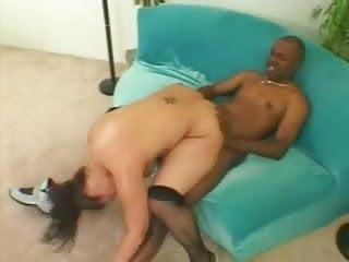 Hot Fat Chubby Ebony GF fucking her BBC boyfriend-P2