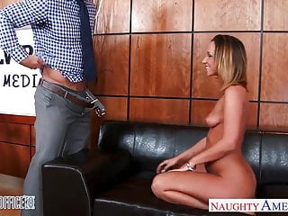 Horny office babe Jada Stevens gets arse fucked