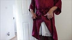 Full Slip with black undies