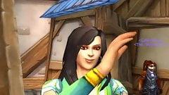 Human Female sexy dance (World of Warcraft)
