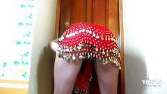 Keira Verga's big ass