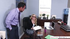 naughty america AJ Applegate fucking on the desk