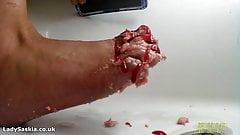 BTS Getting my feet dirty & Washing them clean