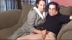 Stepmom & Stepson Affair 77 (An Embarrasing Handjob)