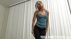 I know how good I look in yoga pants JOI
