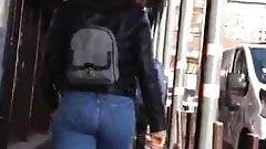 Sexy Babe's Beautiful Buttocks