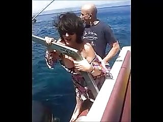 Preview 4 of Hot MILF fuck on the boat