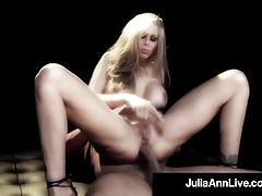 Hot naked milf julia ann does anal sex on a broadway stage Thumbnail