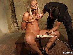 Submissed.com Blonde pornstar Sandy