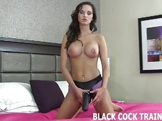 We need to train you before you take a big black cock