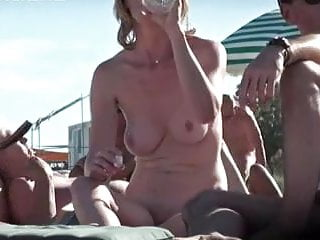 adult section at cap d agde nude beach