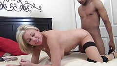 Skanky Cougar with her Black Lover