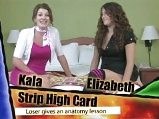 Clip strips greeting card - Strip high card with kala and elizabeth hd