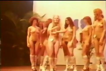 Vintage nude beauty pageant