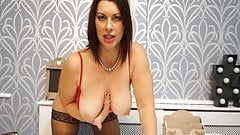 Hot milf in the office