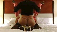 Fucking my crossdresser gurlfriend, Tracy! Awesome anal sex!