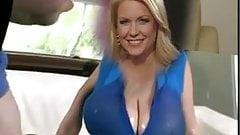 Carrie Keegan huge tits fake.