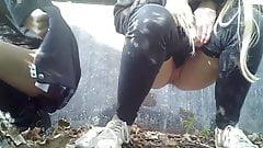 Girls Peeing Outside 5