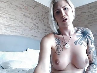 Preview 3 of Sexy Blonde Tranny Does Cock and Anal Masturbation