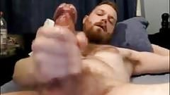 Str8 Daddy with Bigdick Shoots a Powerful Cumshot #156