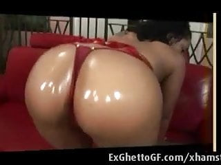 Preview 2 of Round ass ebony ghetto babe fucked