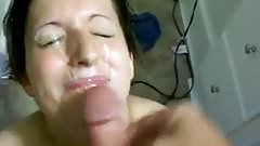 Amateur facial mess