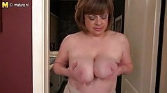 Cute busty mature mother needs a good fuck
